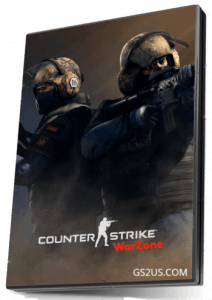 Counter-Strike 1.6 WarZone CD Cover
