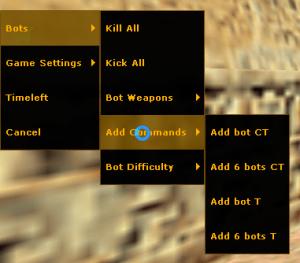 cs 1.6 bots menu