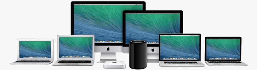 mac computers banner