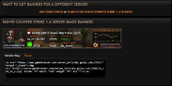 game servers banners